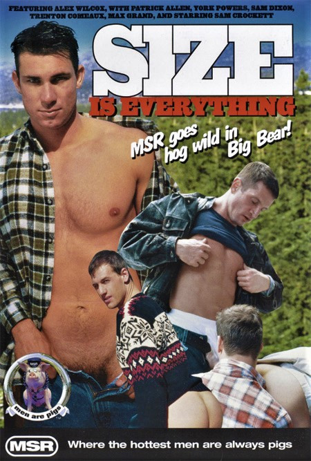 Size Is Everything (MSR Videos) Gay Retro