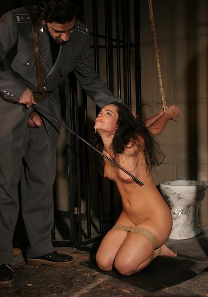 Charged with treason-Sandra in bdsm action