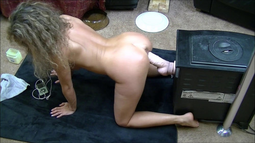 Dirty Wife I get on all fours and back into this monster (2017) Sex Machines