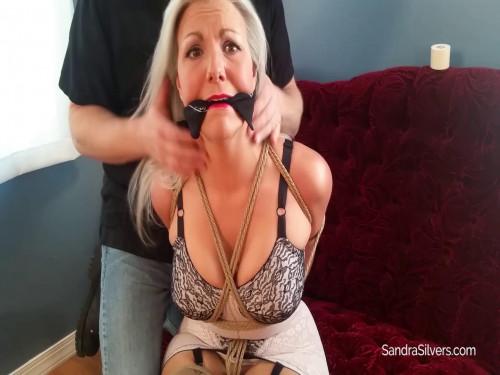 Sandra home made bondage