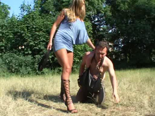 Girl Domination Femdom and Strapon