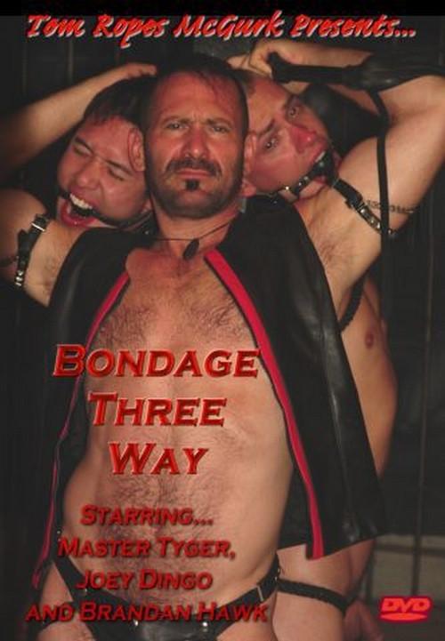 Bondage Three Way Gay BDSM