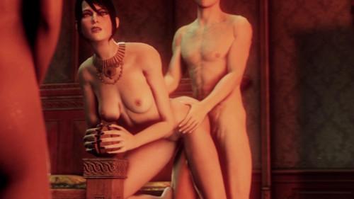 morrigan lessons 3D Porno