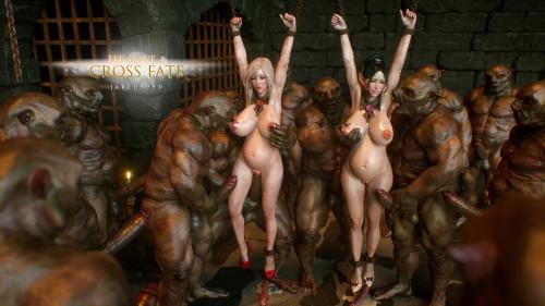 Elf Slave 4 - Cross Fate Comics