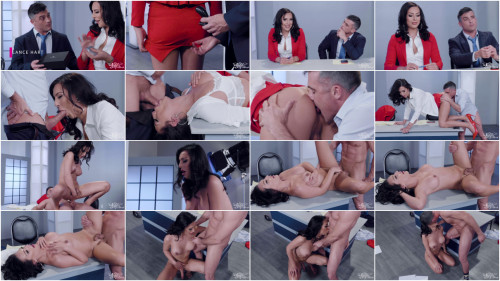 Chanel Santini – TS newscaster gets fucked by her co-anchor
