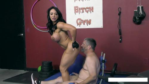Bodybuilder and her humiliation