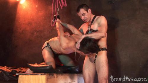 Twink Slave Ravaged Gay BDSM