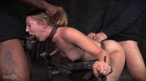 Sexy Blonde Bondage & Hardcore Fuck