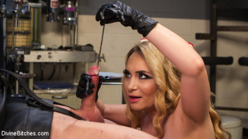 Chronic Masturbator D. Seeks Sick & Twisted Therapy From Aiden Starr!! Femdom and Strapon