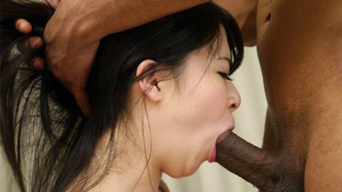 Slutty satomi nagase is drilled so precious by a darksome dick