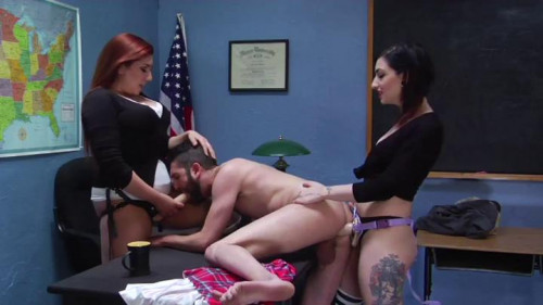 Blackmail Strap-On Starring – Cybill Troy and Elena de Luca