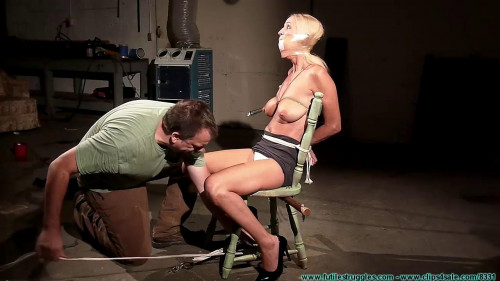 Amanda Foxx Begs For Tit Torture and Gets It! - Part 1