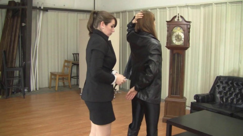 Madalynn Raye & Elizabeth Andrews - Detective Andrews Arrests Her Mark