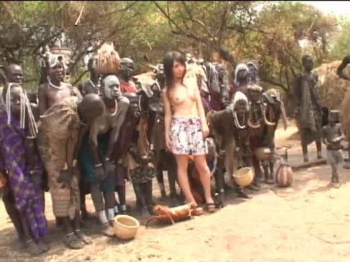 Naked Continent 4 Bizzare Interracial Sex in Africa. Yuka Osawa