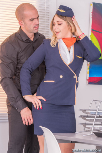 Selvaggia - Flies High With Airlines HD 720p