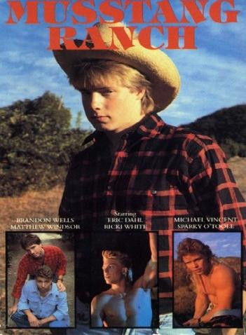 Musstang Ranch (1986)-Michael Vincent, Rickie White, Sparky O'Toole Gay Retro