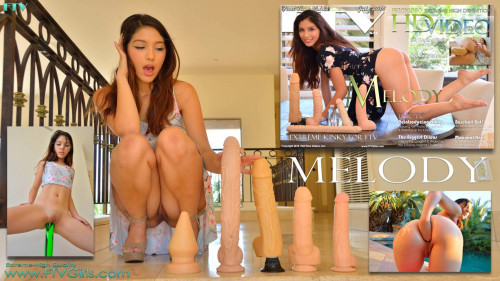 Melody V - Her anal extreme (2018) Fisting and Dildo