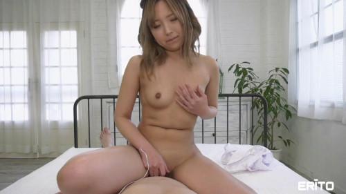 Shower with Cute Girlfriend Mone