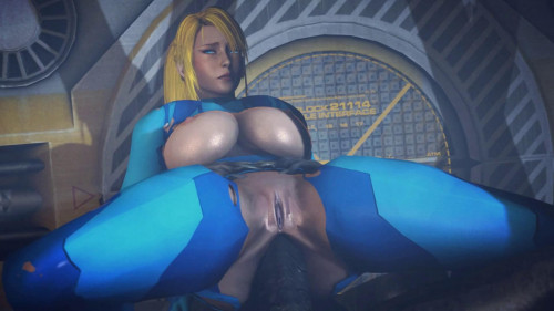 Samus Training suit 3D Porno