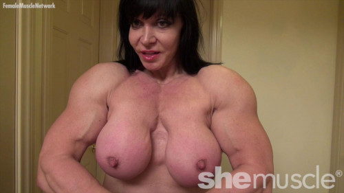 With Muscles Like These, She's the Princess Of Power Female Muscle