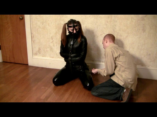 Catburglar Caught! BDSM Latex