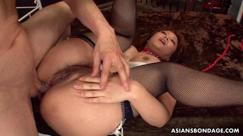 Asiansbondage – Jul 22, 2016 – Hot Hinata Komine Loves Double Penetration Fun