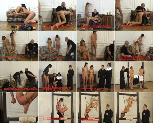 Discipline in Russian Convent BDSM
