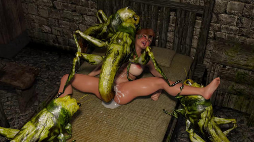 Hell of Lewd Insects 3D Porn