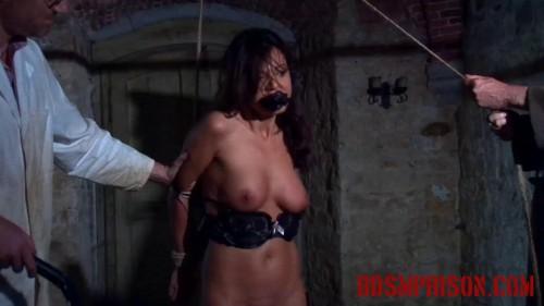BDSMPrison - Natalia Endures BDSM Interrogation with Suspension & Flogging