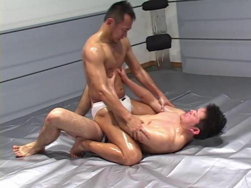 Oil Wrestling Fight DX Asian Gays