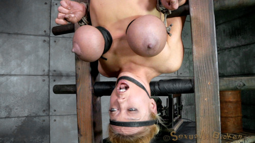 Inverted With Automatic Cocksucking Machine! - Dee Williams - HD 720p