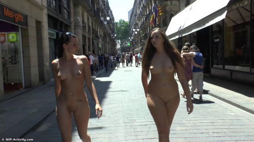 The Girls Naked In Public Part 22  ( 10 scenes) MiniPack