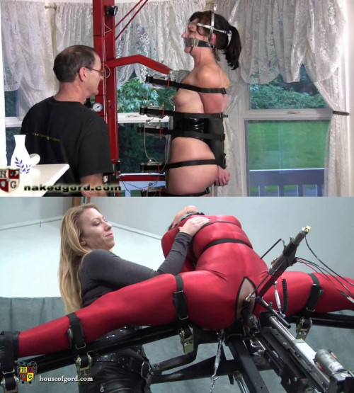 Super bondage, strappado and torture for very hot angel