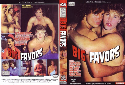 Bareback Big Favors (1986) - Dirk Caldwell, Dana Peterson Gay Retro