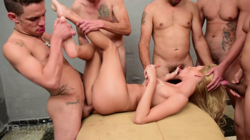 Anal Orgy for trance