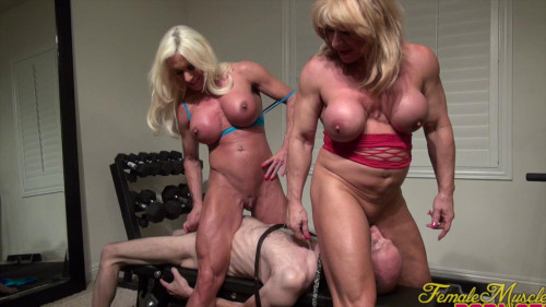 Ashlee Chambers and Wild Kat Female Muscle