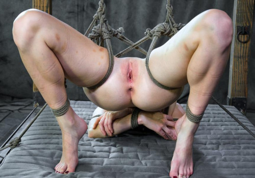 Presenting Veruca James- Rope bondage and submission