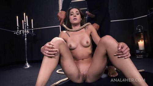 Super restraint bondage, domination and soreness for very hawt floozy
