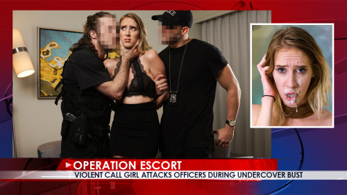 OperationEscort - Violent Call Girl Attacks Officers During Undercover Bust