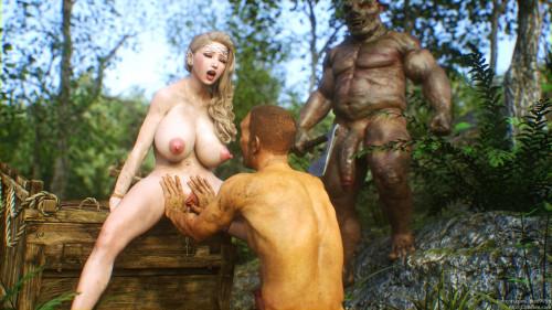 Elf Slave 5 - Goblin Bride Comics