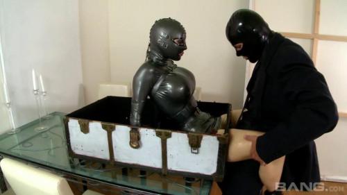 Latex Lucy box BDSM Latex