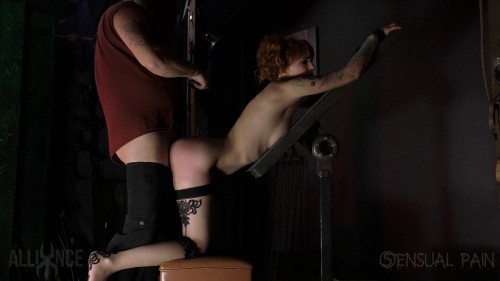 Sensualpain Cane And Strap Abigail Dupree Master James 1080P