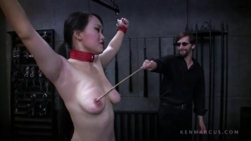 Bondage, spanking, strappado and torture for horny naked slut Full HD