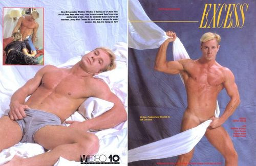 Excess (1989) - Butch Taylor, Matthew Windsor, Brandon Wells Gay Retro
