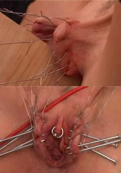 Vaginal torture in action
