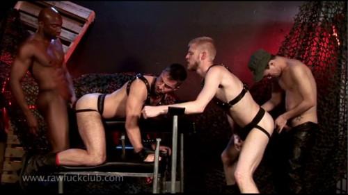 Raw Fuck Club - Champ Robinson, Alejandro, Logan, Brandon 720p
