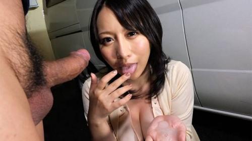 Hot yuna hoshizaki receives cum in her throat