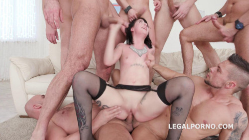 7on1 Gangbang with Charlotte Sartre