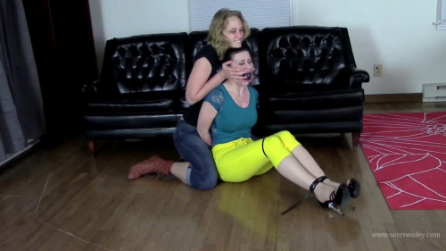Mia Vallis & Serene Isley - Bondage Model to Bondage Slave