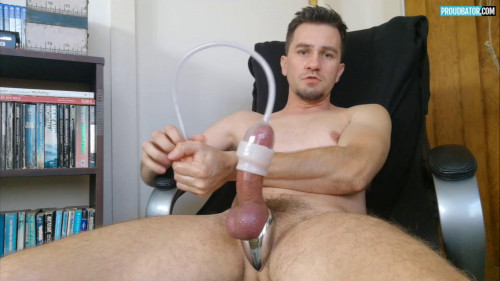 Proudbator - New Metal Ring and New Toy (1080p) Gay Solo